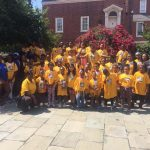 Marnitta and her Leadership Camp in Annapolis