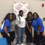 Marnitta with 102_3 Magic at Community Health Fair
