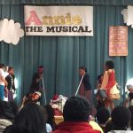 Supporting a musical at William Hall academy